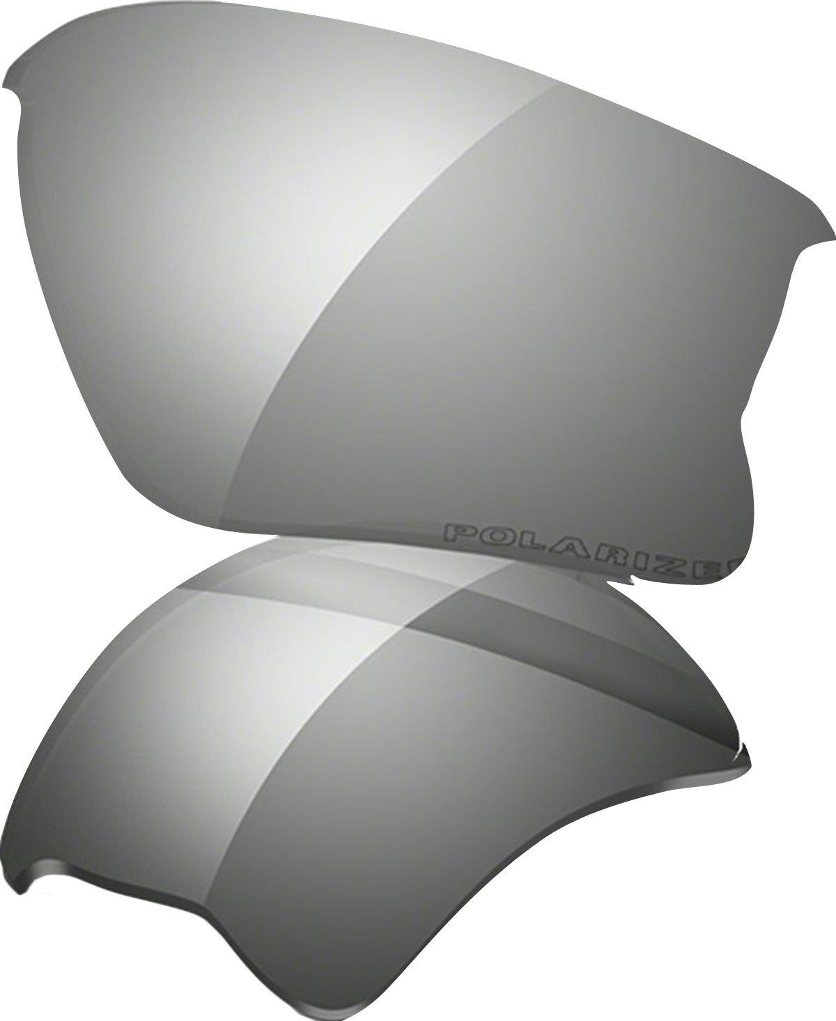 Oakley Flak Jacket XLJ Adult Lens Sunglass Accessories - Black Iridium Polarized by Oakley