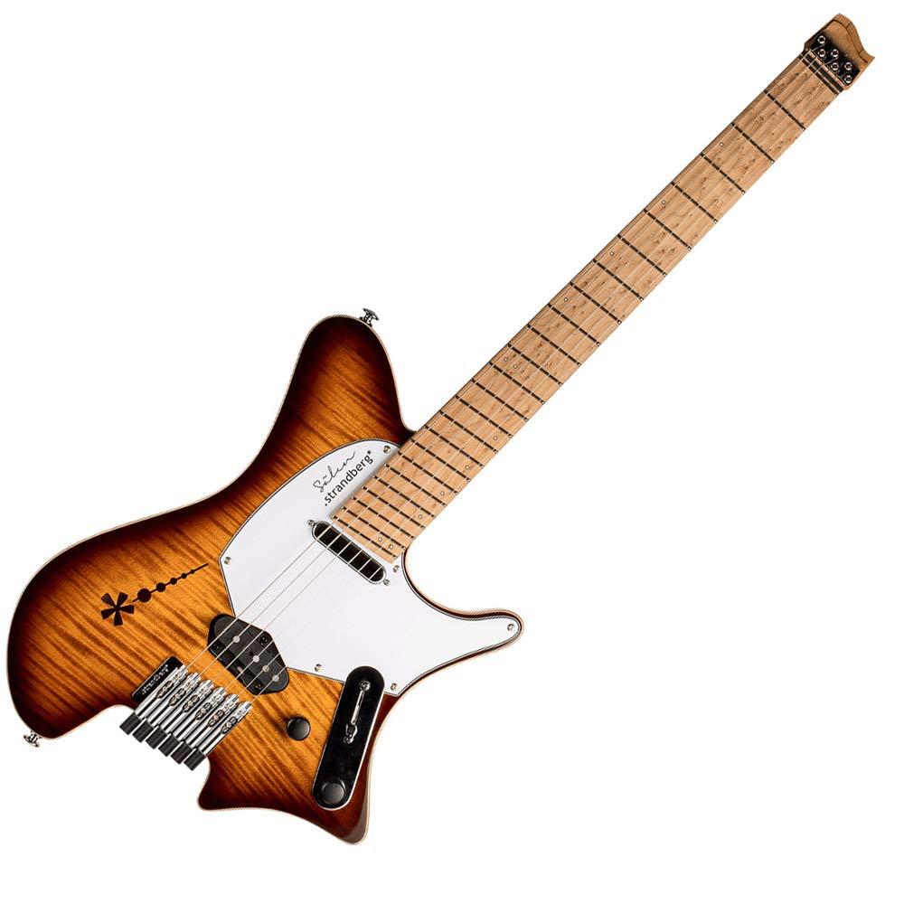 Strandberg Salen Deluxe Vintage Burst エレキギター ストランドバーグ   B07J2KX6TL