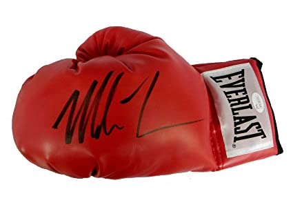 b28bcaf098d Autographed Signed Authentic quot Iron quot  Mike Tyson Boxing Glove JSA COA