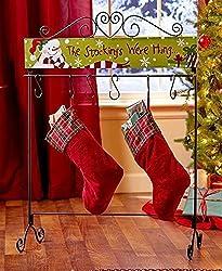 Standing Christmas Stocking Hangers Holder