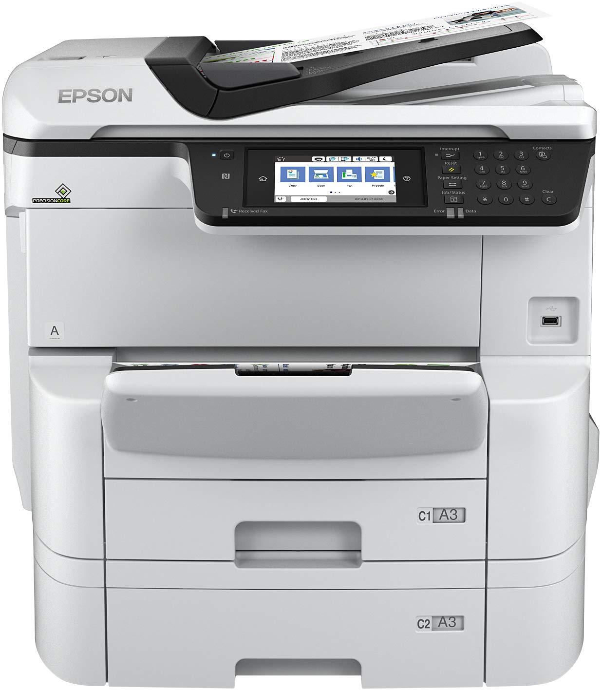 Epson Workforce Pro WF-C8690DTWF - Impresora multifunción ...