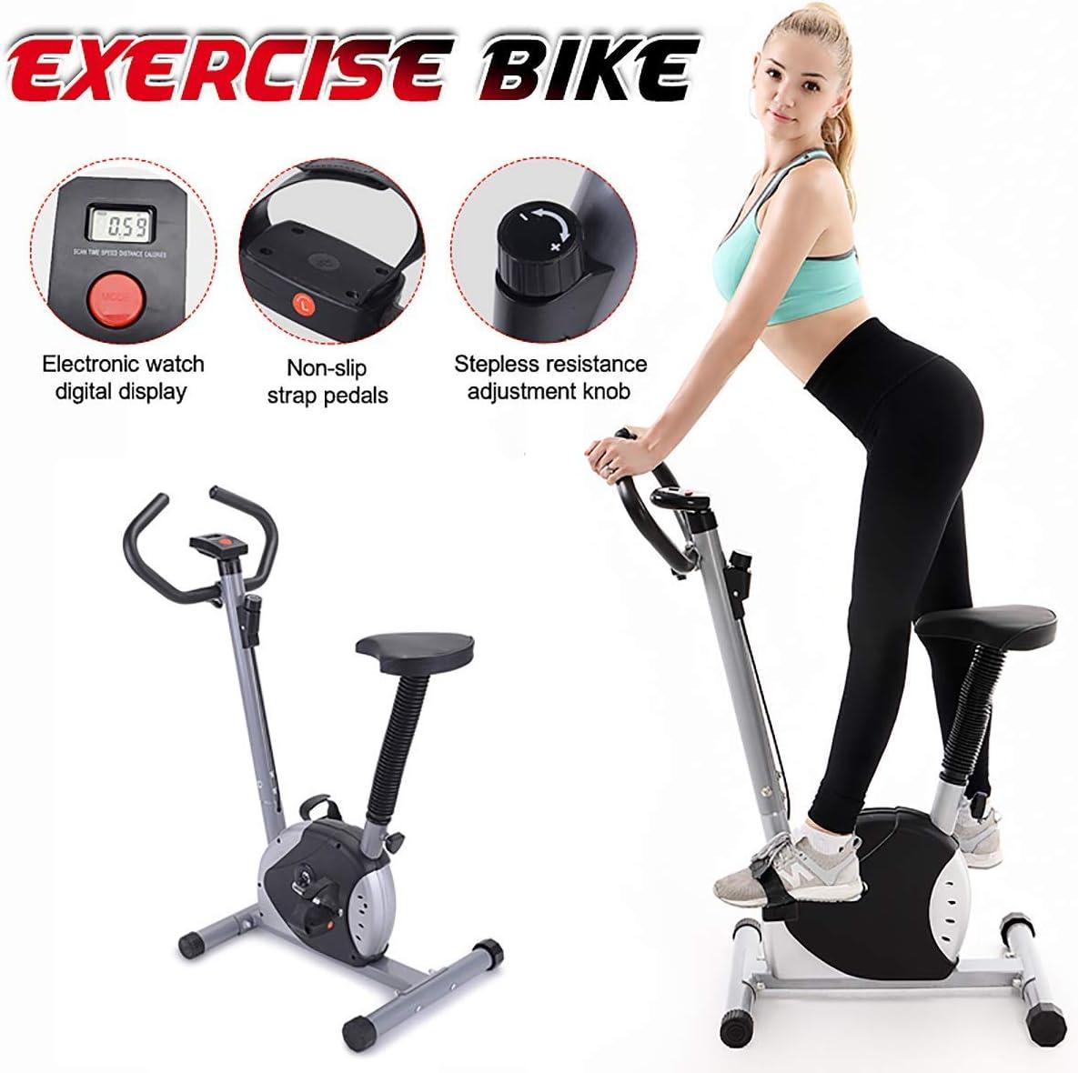 JINHH Formación Bicicleta Estática, Digital Display Cardio Home Gym Fitness Spinning Indoor Cycling Inicio Bicicleta De Spinning Equipo De Deporte: Amazon.es: Deportes y aire libre