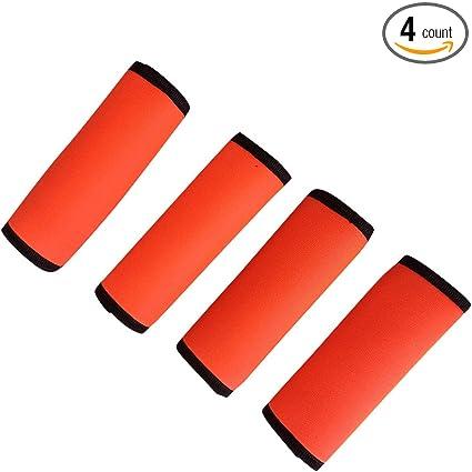 Amazon.com: Conjunto de 4 brillante Naranja Neón Spotter ...