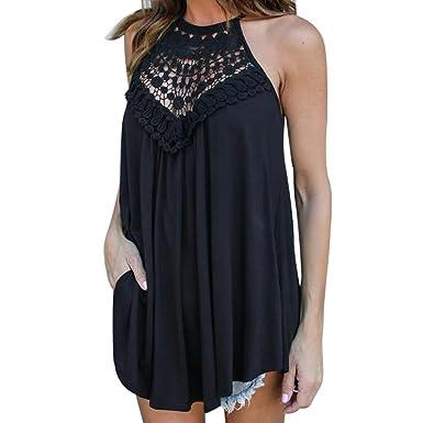 03ebcdccf3b Aurorax 2018 Women T-Shirt  Sexy Sleeveless Summer Dress Sleeveless  Backless Party Dresses
