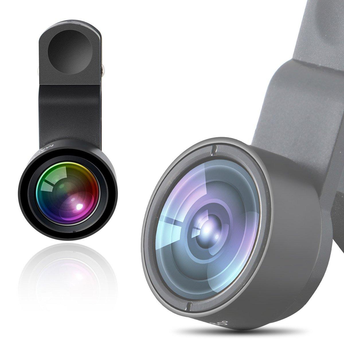 Cell Phone Lens Mactrem 180 Degree FishEye Universal Camera Phone Lens
