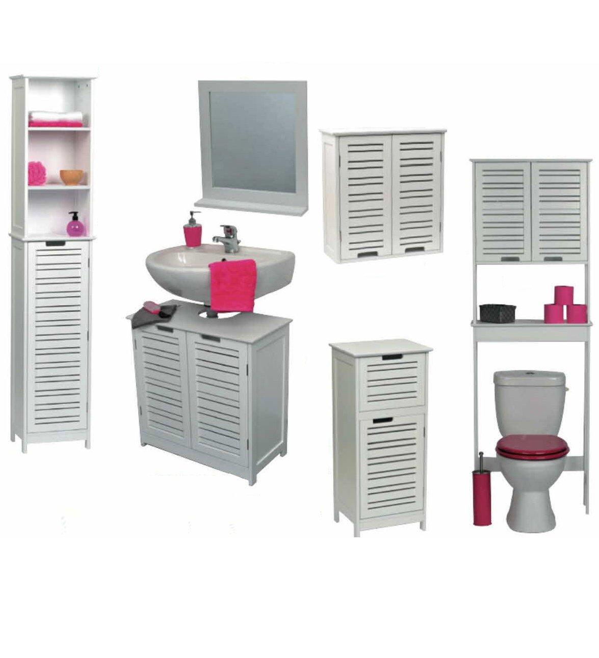 Amazon.com: EVIDECO Non Pedestal Bath Under Sink Storage Vanity ...