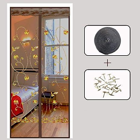 Magnetic Full frame magic sticker Magnetic screen door Mute ...