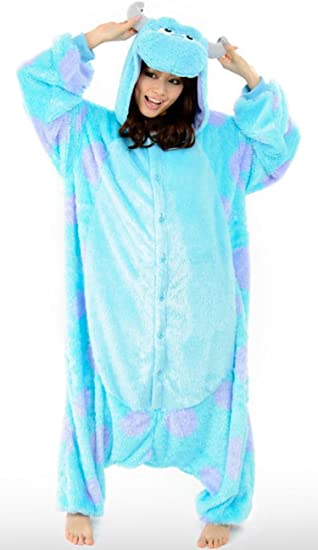 Japan Disney Onesie Monster Inc Sully Kigurumi Pajamas Sully Costume Cosplay  sc 1 st  Amazon UK & Japan Disney Onesie Monster Inc Sully Kigurumi Pajamas Sully Costume ...