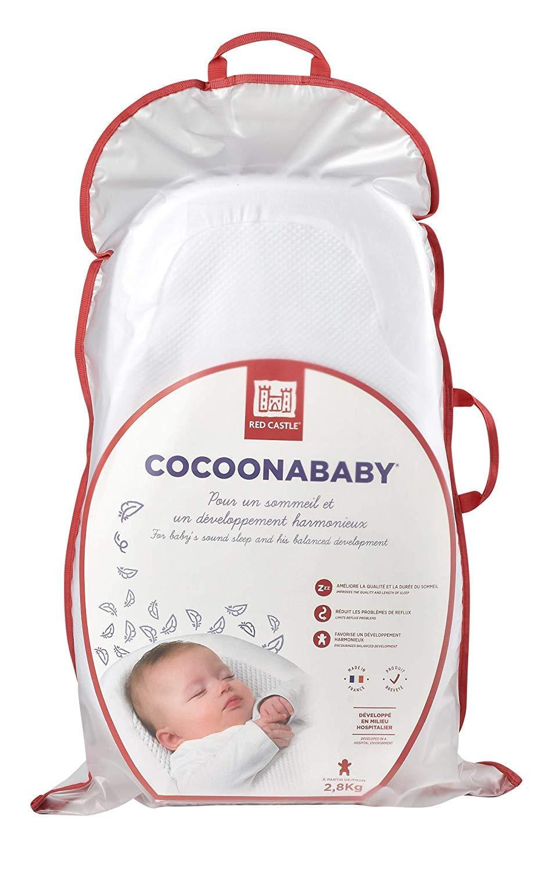 color rosa Colch/ón para cuna de beb/é Red Castle Cocoonababy