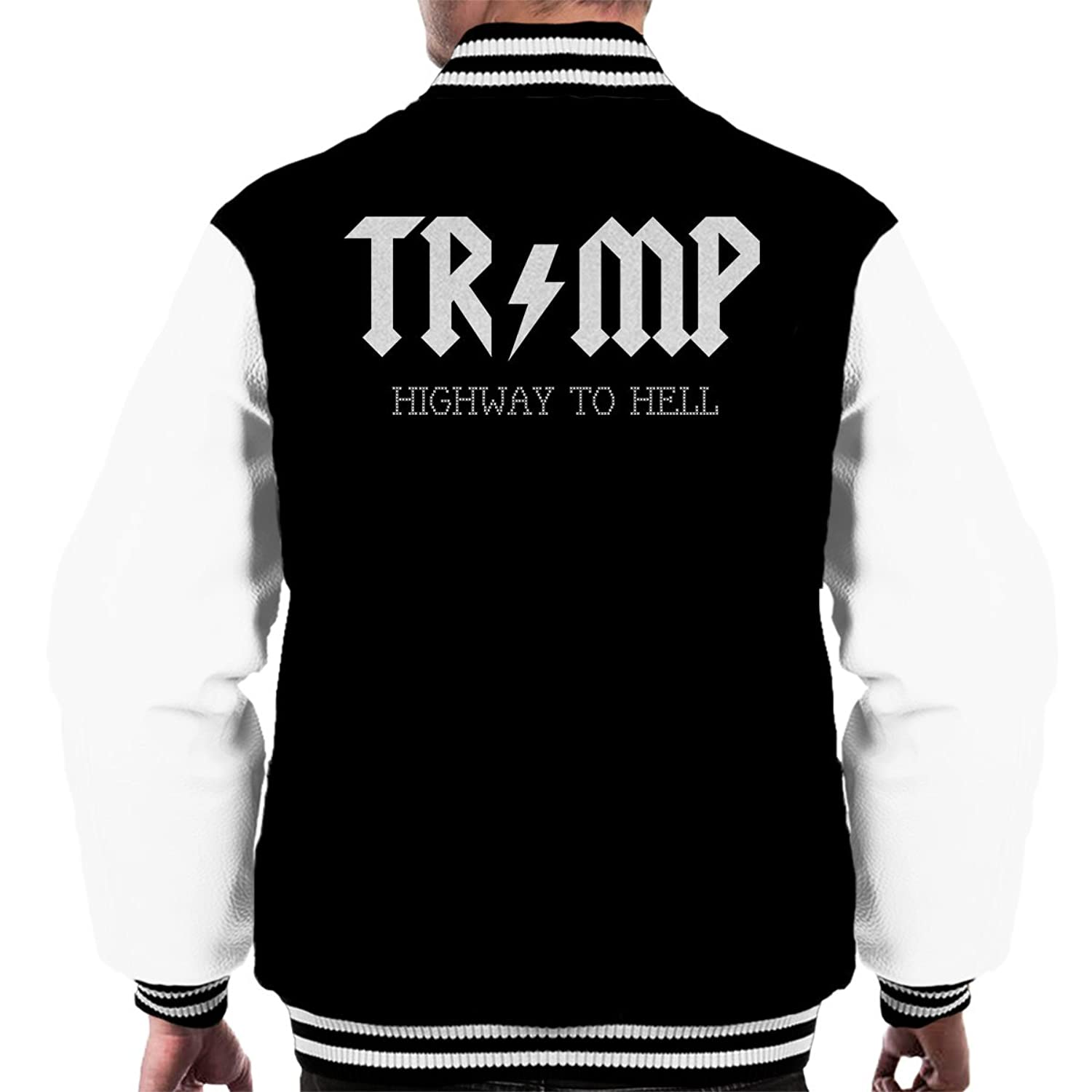 Trump Highway To Hell AC DC Men's Varsity Jacket