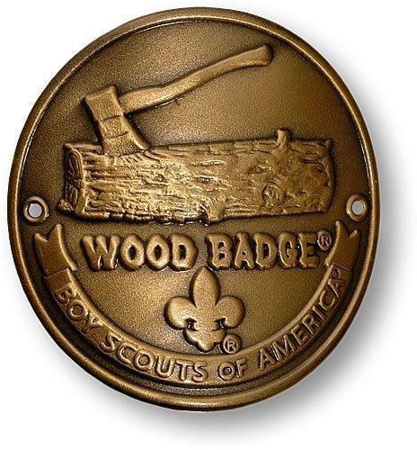 Wood Badge Hiking Stick Medallion