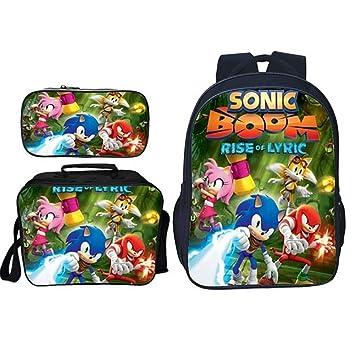 XLST Sonic Lona Bolsa para La Escuela Ligero Ordenador ...