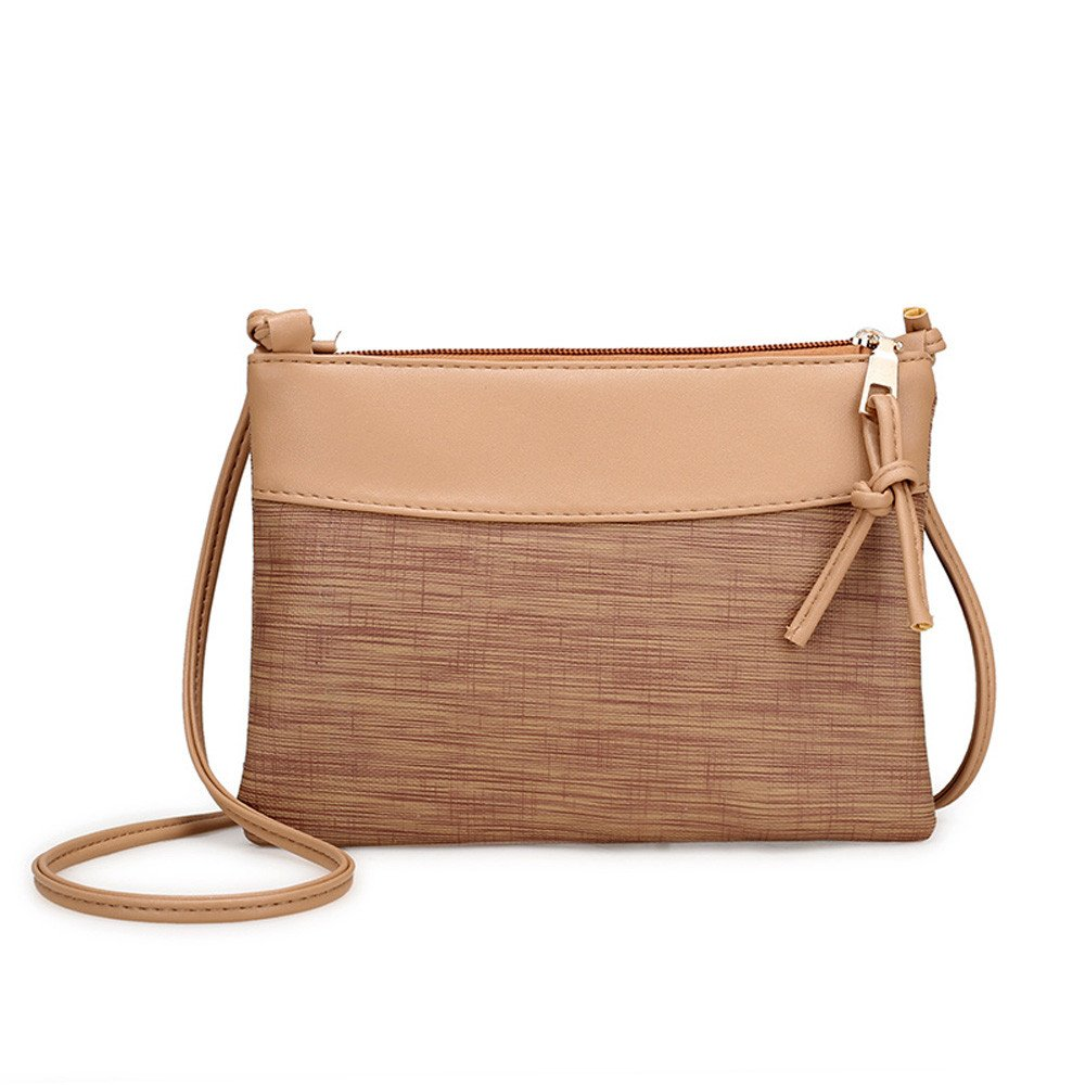 Piebo Handtasche Damen Umhängetasche Schultertasche Retro Strand Elegant Tasche Mädchen Reisetasche Frauen Mode Make-up Kulturtasche Schminktasche