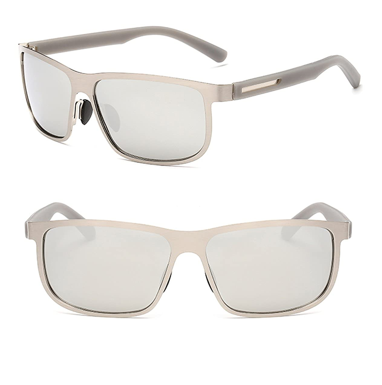 9cf85db20308a bagland Marco de metal polarizadas de protección UV400 tac lentes Gafas de sol  para conducir  Amazon.es  Ropa y accesorios