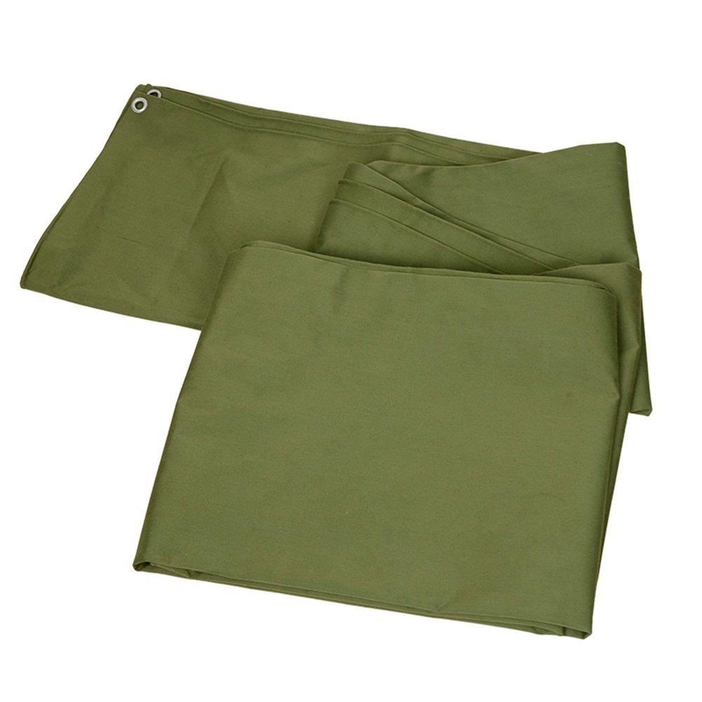 ZEMIN オーニング サンシェード ターポリン 防水 日焼け止め テント シート ルーフ 防風 カバー 厚い ポリエステル、 緑、 500G/24サイズあり (色 : 緑, サイズ さいず : 5X5M) B07D3S97TG 5X5M|緑 緑 5X5M