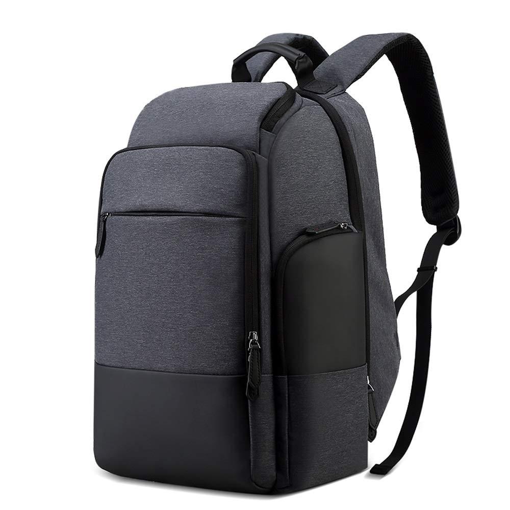 ビジネスバックパック男性17インチ多機能盗難防止旅行バッグファッションビジネスメンズバックパック大型コンピュータバッグ   B07Q7GLMW8