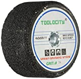 Toolocity GSB0024G 4-Inch Green Grinding Stone 24 Grit with 5/8-11 Thread