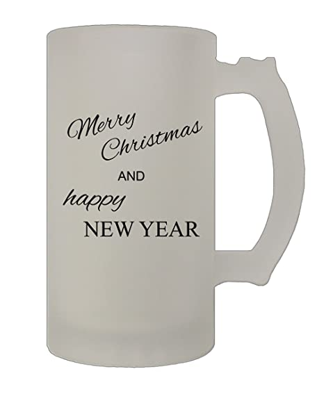 style in print merry christmas and happy new year funny holidays 16 oz