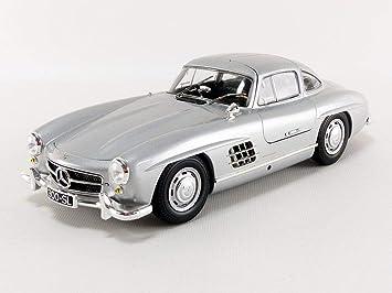 Minichamps 110037210 1 18 1955 Mercedes Benz 300 Sl W198 Silber Spielzeug