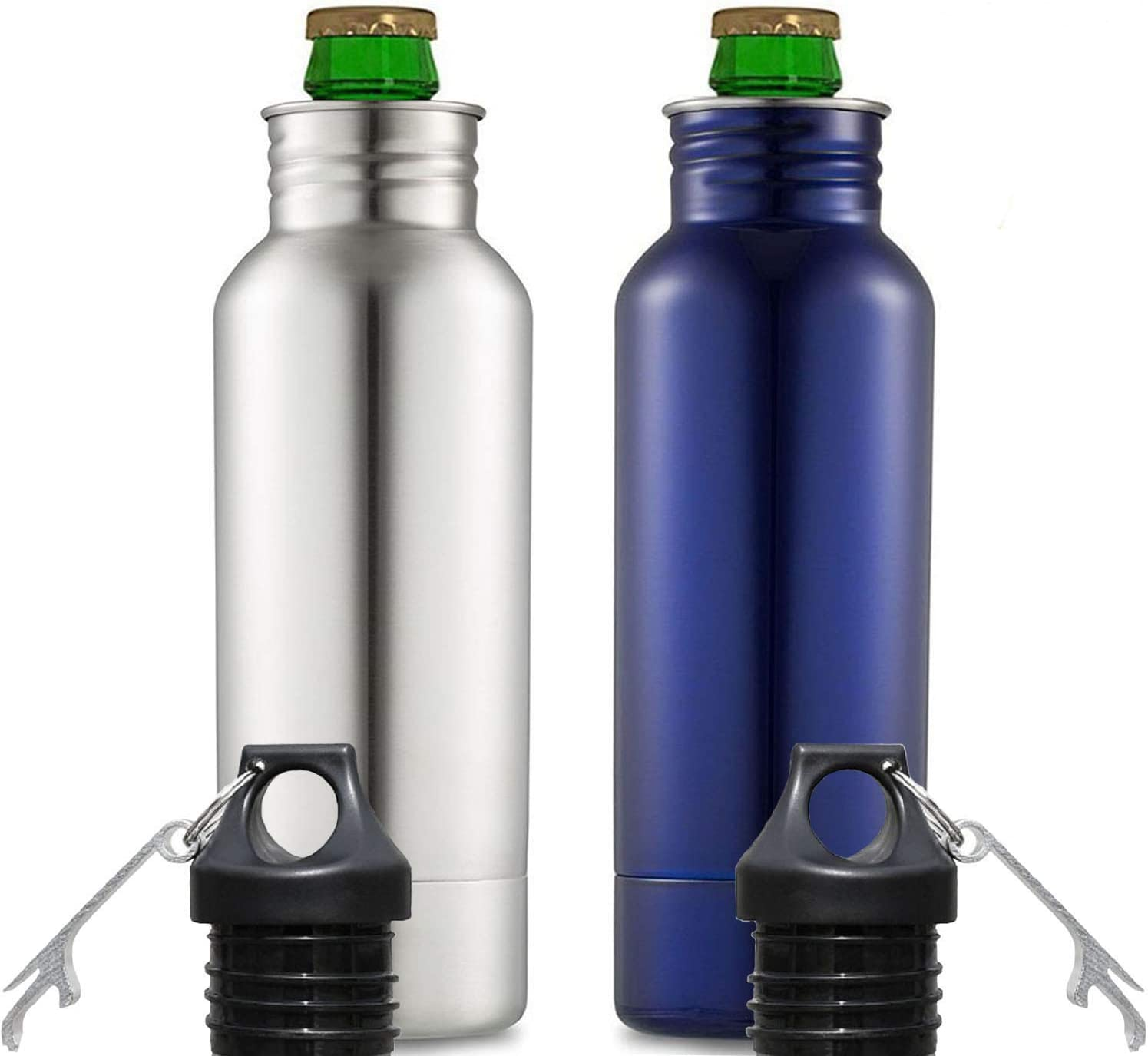 12OZ Beer Bottle Cooler Keeper Can//Bottle Holder 304 stainless steel Double Wall