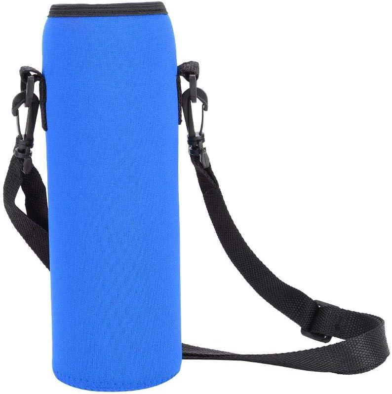 VGEBY1 Funda para Botella de Agua, Funda a Prueba de escaldaduras para Botella de Agua portátil de 3 Colores para Actividades al Aire Libre con Correa