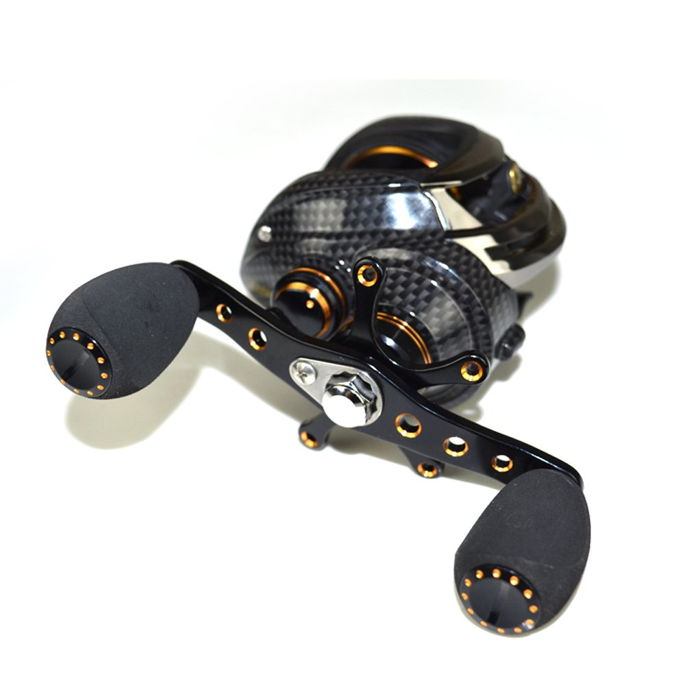 Lixada Baitcasting Reel 17 1 Ball Bearings Baitcast Fishing Reel 7.0 1 Bait Casting Reels Left Right Hand with Dual Brake System Luxury Paint Fish Reel