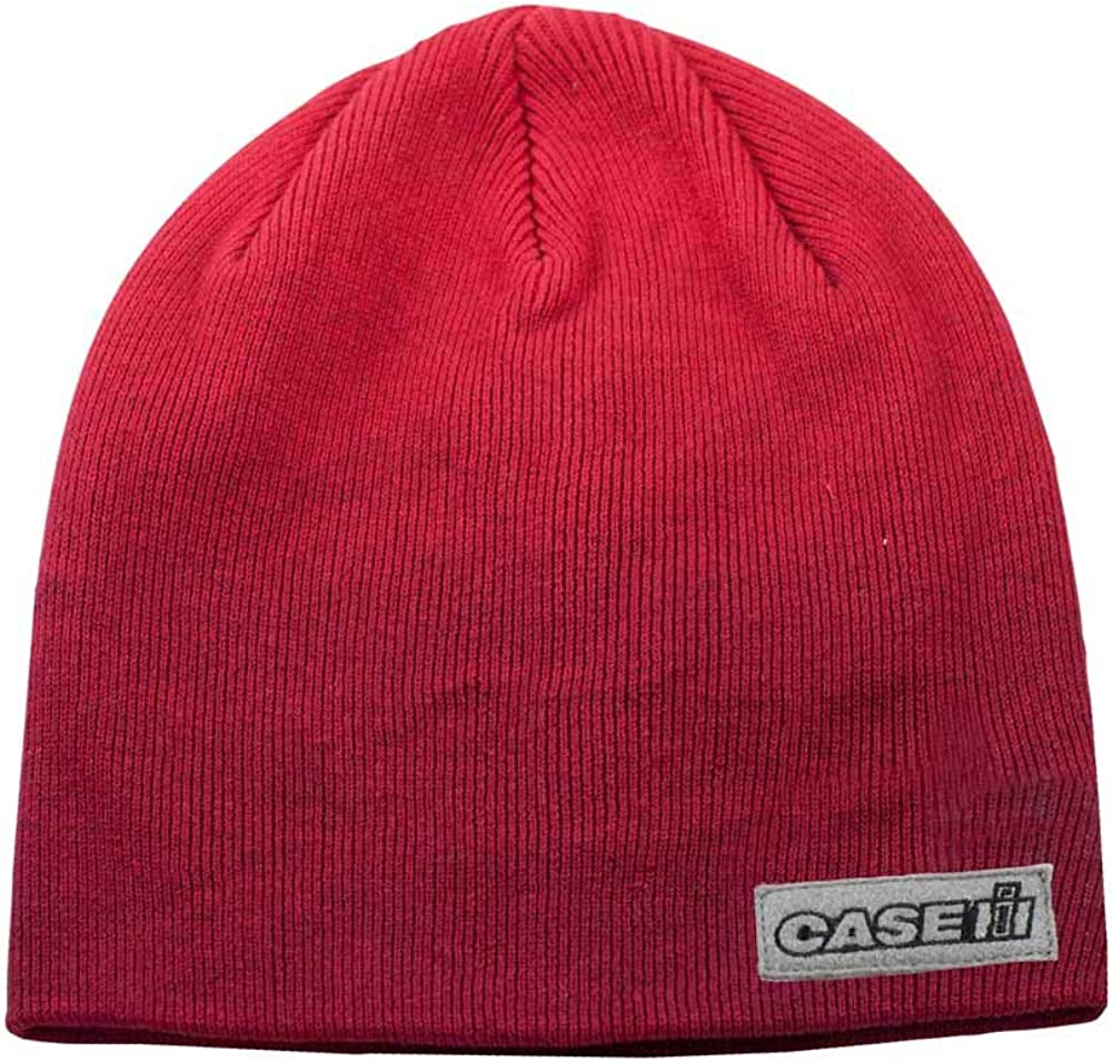 Case IH Adult Red Knit Beanie 16CIHK025