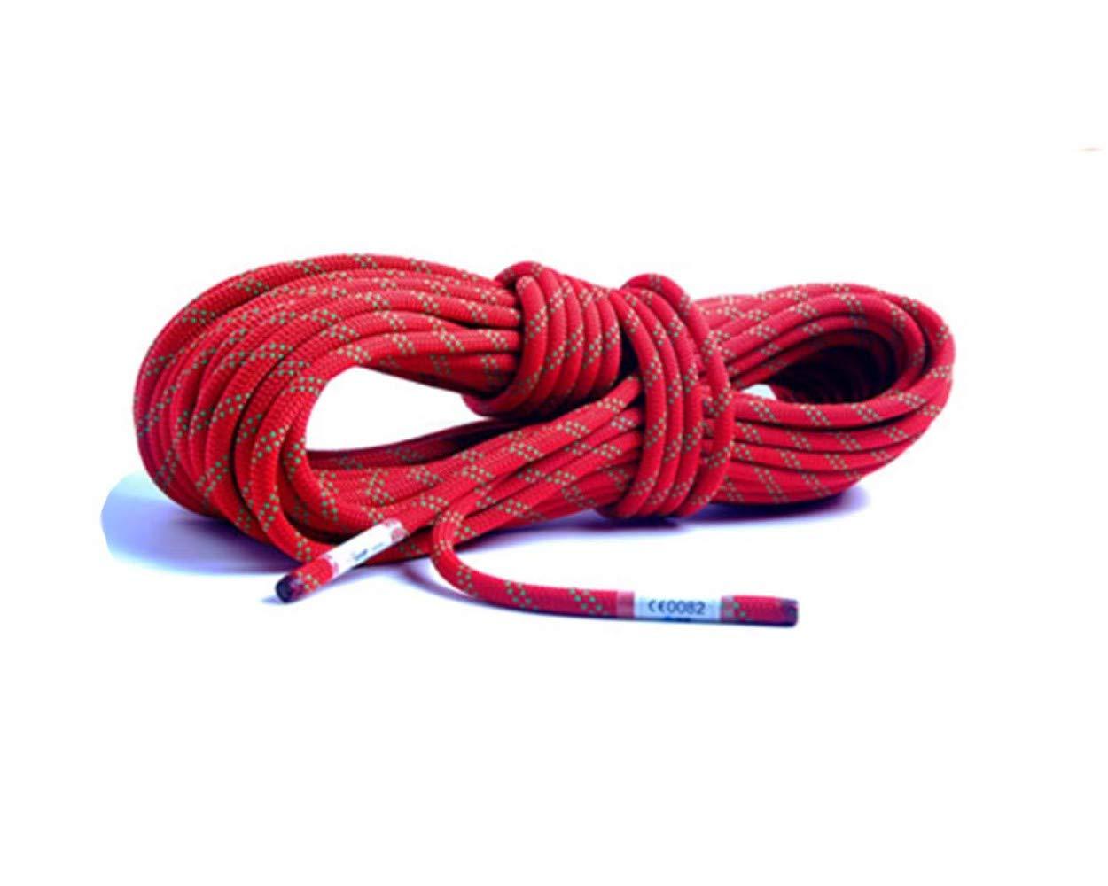 Rouge ZAIYI-Climbing rope 12   14MM Alpinisme Aventure en Plein Air Camping Corde De Sécurité Antidérapante Sauvetage d'urgence Sauvetage,blanc-10m14mm 20m12mm