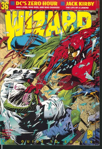 (WIZARD #36 Jack Kirby Maximum Carnage Mortal Kombat II Chaos Effect 8)