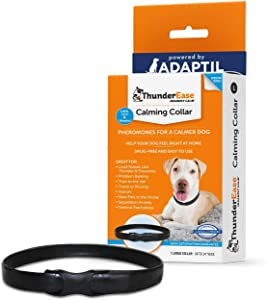 ThunderEase Calming Anti Anxiety Pheromone Collar for Dogs (Large)