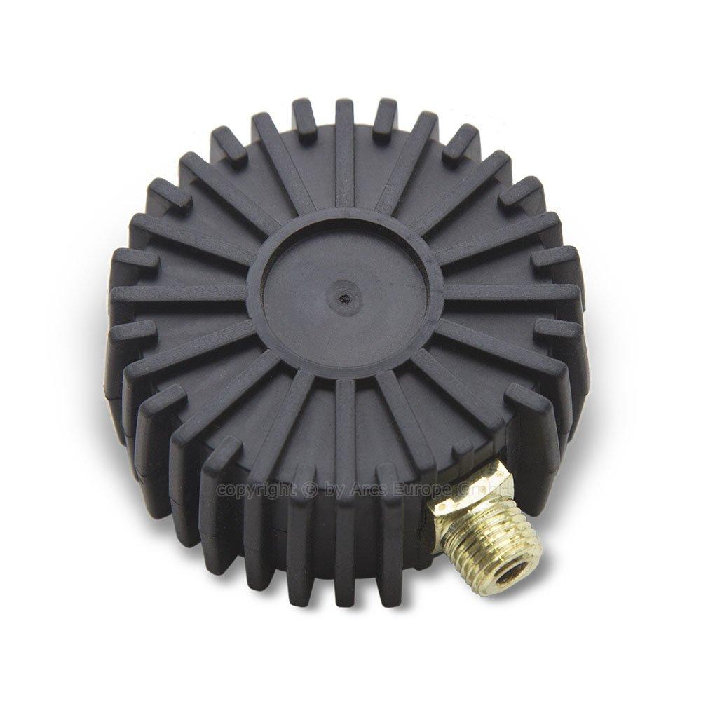 /0/Couteaux /à 16/bar hydraulique Air Comprim/é Manom/ètre 75/mm vertical 1//4/Raccord/