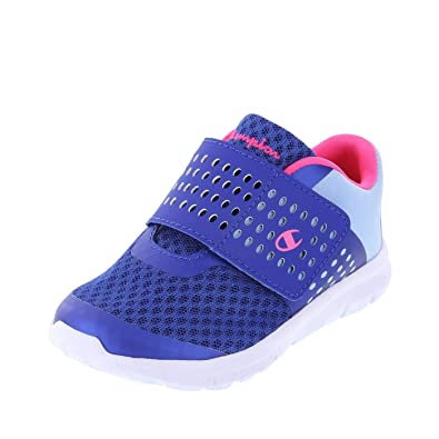 60a2279cc9b7bc Champion Blue Light Blue Mesh Kids  Toddler Gusto Powerstrap Cross Trainer  5 Regular