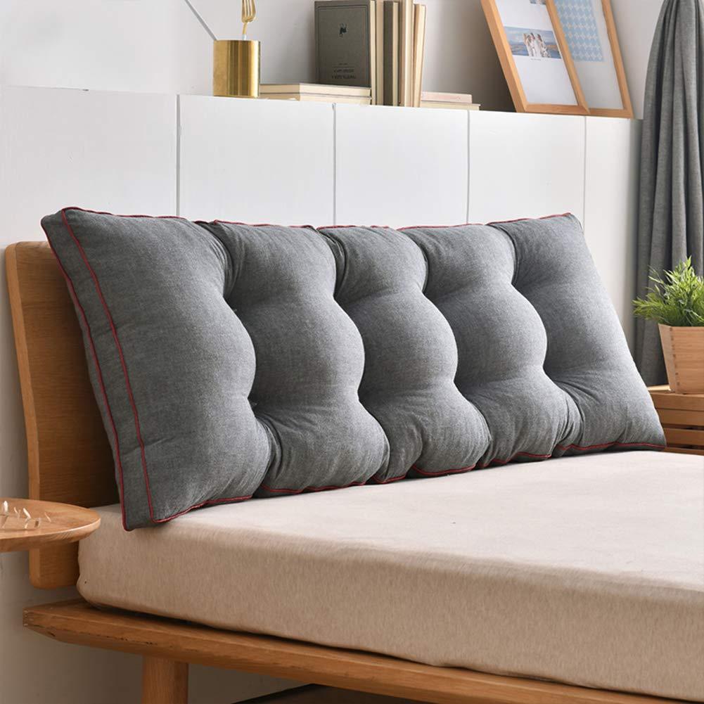 DULPLAY Sofa Bett R/ückenlehne,Bedside Triangle Big Kissen Sofa Sessel R/ückenst/ützen Keil Kissen-a 60x50cm