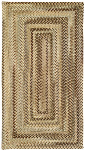 Concentric Rectangle Braided Rugs (Manchester Hues 0048qs 7' 6