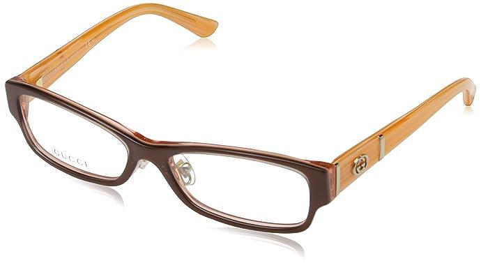 Gucci 古驰 GG3526/U/F 棕色珊瑚眼镜架 ¥741 中亚Prime会员免运费直邮到手约¥807