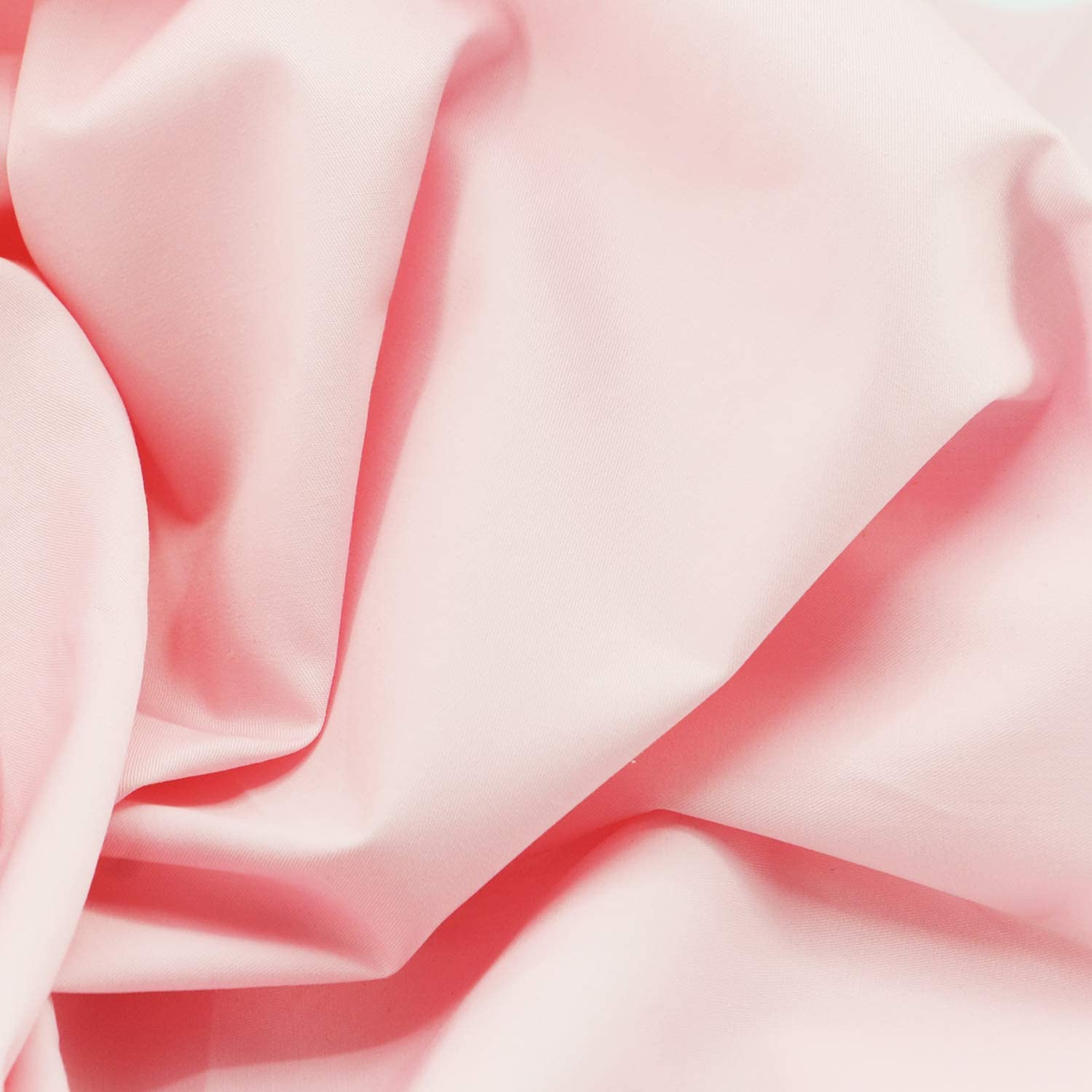 Pre-Cut Quilting Cotton Twill Baby Pink Candy Color Fabric,Good Quality Craft Cloth,DIY for Sewing Crafting 61