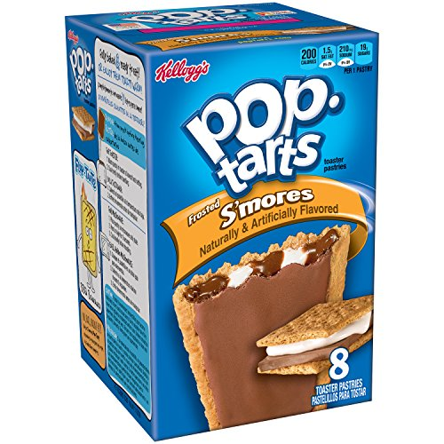 Pop-Tarts, Frosted S'mores, 8-Count Tarts, 14.7 ounces (Pack of 12)