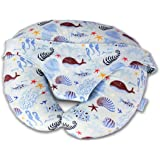 Comfyt Nursing Pillow Multifunctional Baby Lounger Supporting Baby Best Breastfeeding Pillow and Positioner for Mom's…