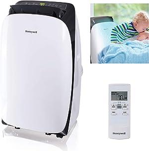 Honeywell HL10CESWK, 10, 000 BTU, Black/White Portable Air Conditioner, 10,000