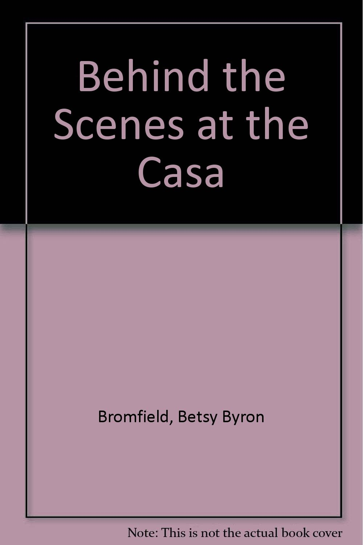 Download BEHIND SCENES AT CASA DORINDA pdf epub