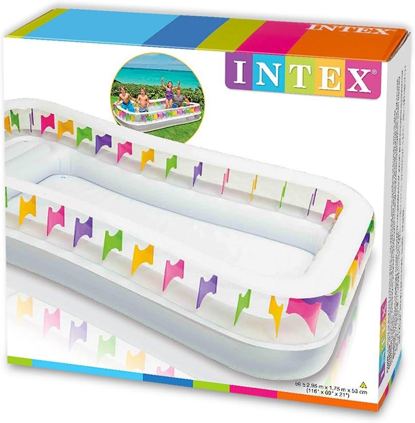 Intex - Piscina Hinchable Family Lounge, 295 x 175 x 53 cm (57477 ...