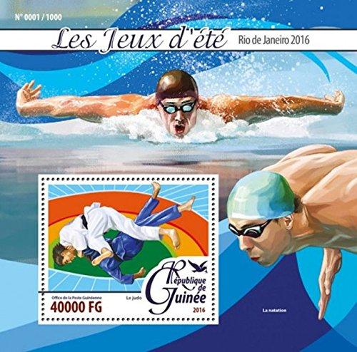 Guinea - 2016 Rio Summer Olympics - Stamp Souvenir Sheet - GU16123b