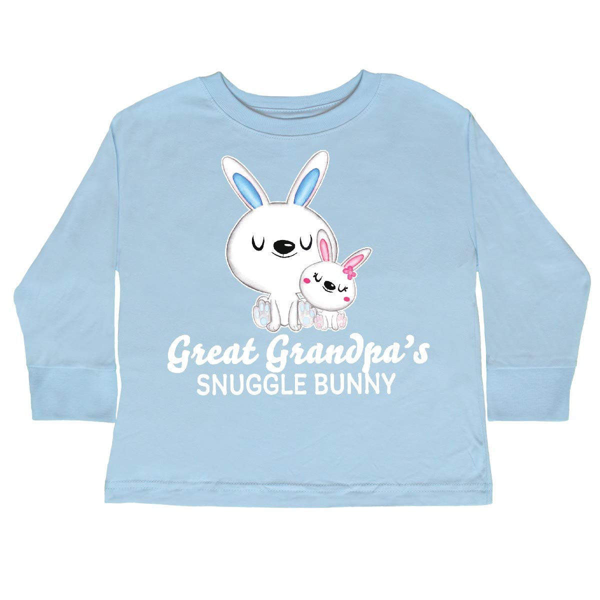 inktastic Great Granpdas Snuggle Bunny Easter Toddler Long Sleeve T-Shirt