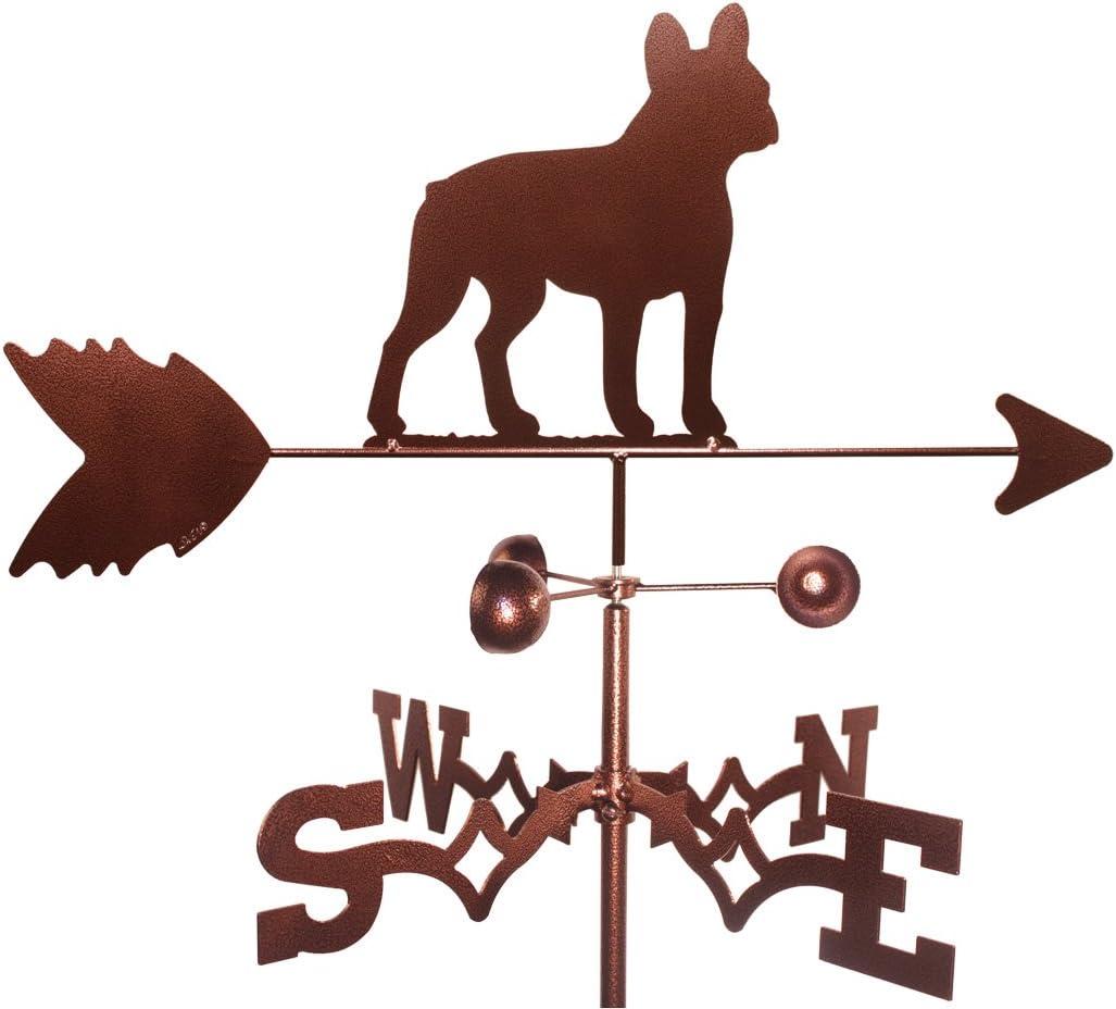 MONTGOMERY INDUSTRIES French Bull Dog (Garden Mount) Weathervane