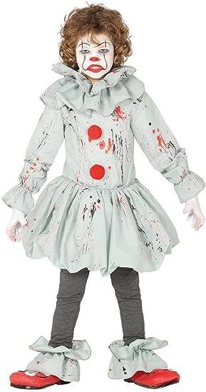 Guirca - Disfraz de Payaso Asesino Asesino - Disfraz para niños de ...
