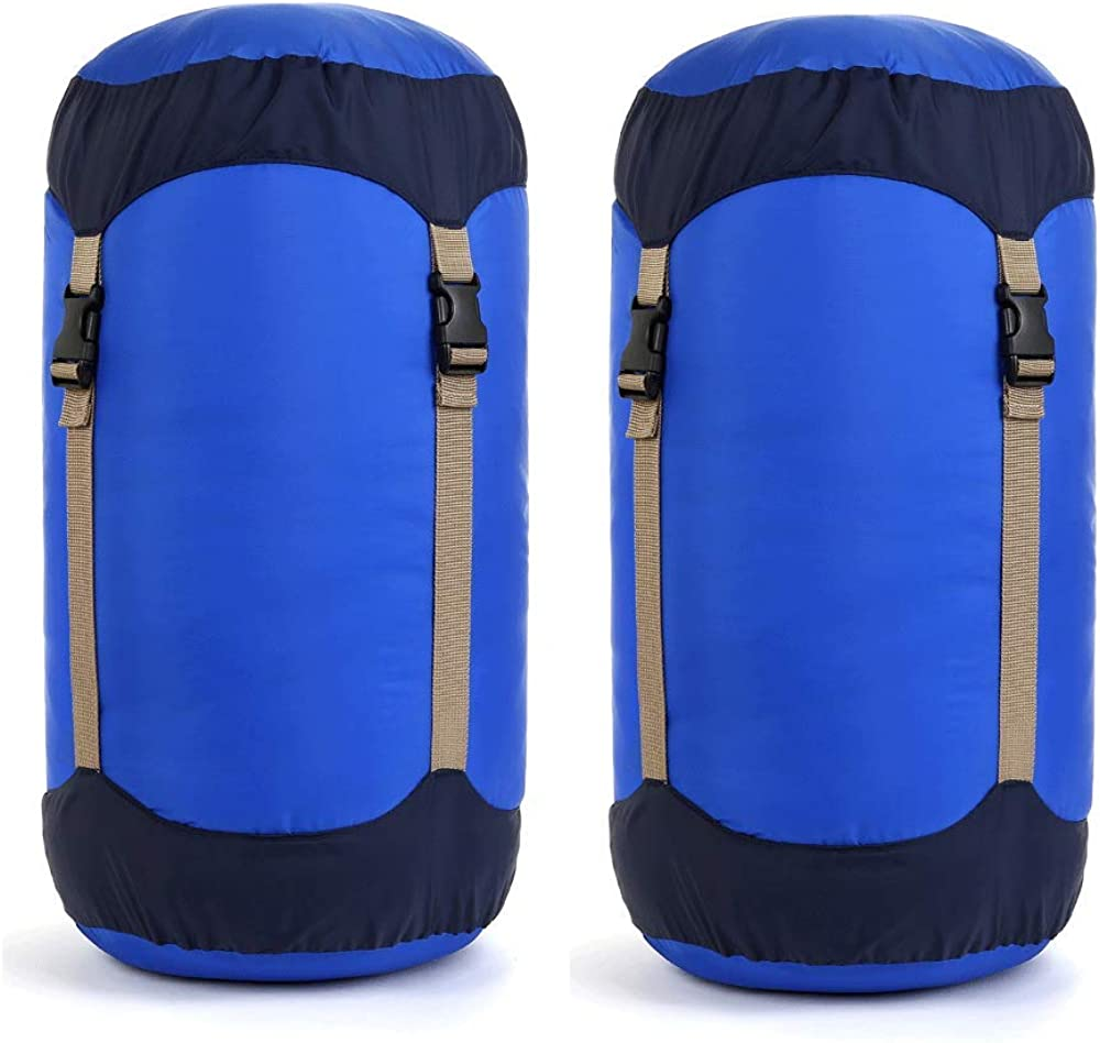 SPORTS NYLON WATERPROOF COMPRESSION STUFF SACK BAG OUTDOOR CAMPING SLEEPING BAG
