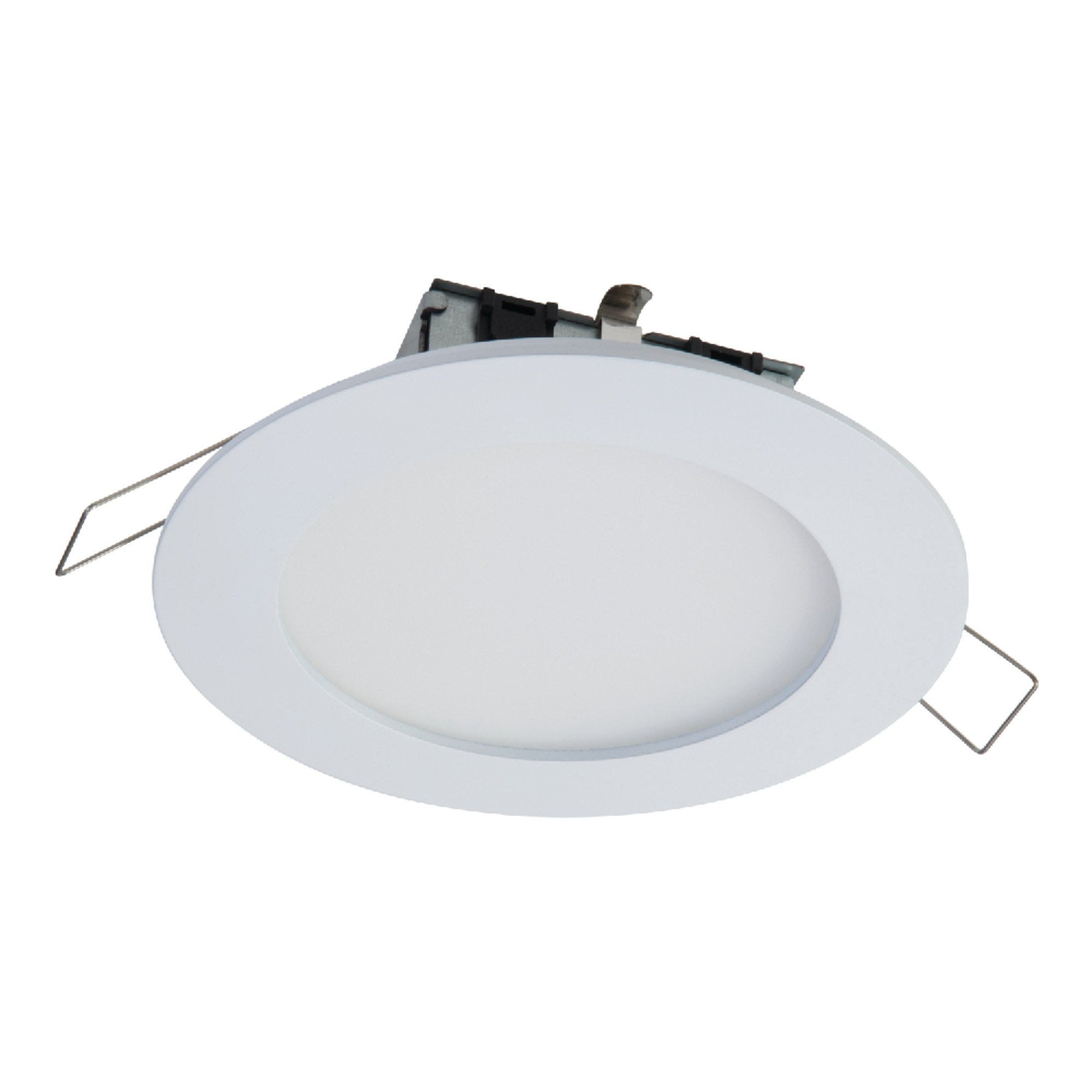 Halo SMD4R6927WHDM SMD 4'' Integrated LED Recessed Round Trim Downlight Direct Mount 90 CRI 2700K CCT, White
