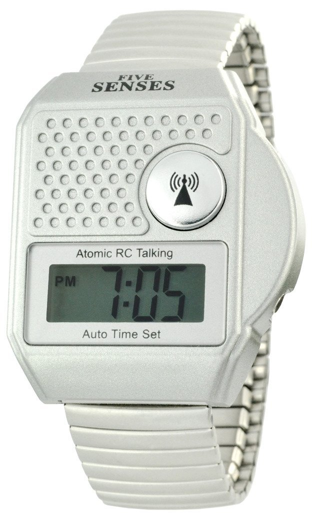 on time talking atomic watch instructions