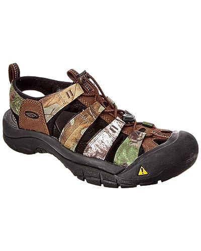 Keen Sandals Mens Keen Newport H2 Flat Realtree/Xtra Green 3835477