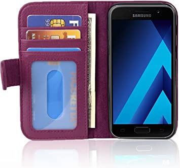 Cadorabo Funda Libro para Samsung Galaxy A5 2017 en Burdeos ...